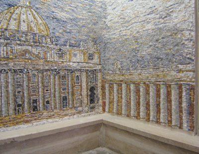 Particolare Mosaico Santa Maria Mater Ecclesiae mq 15